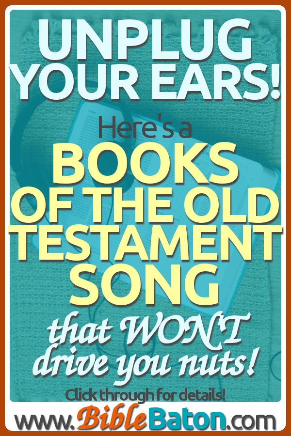 Lyric lyrics for : Books of the Old Testament Song Lyrics for Kids • BibleBaton