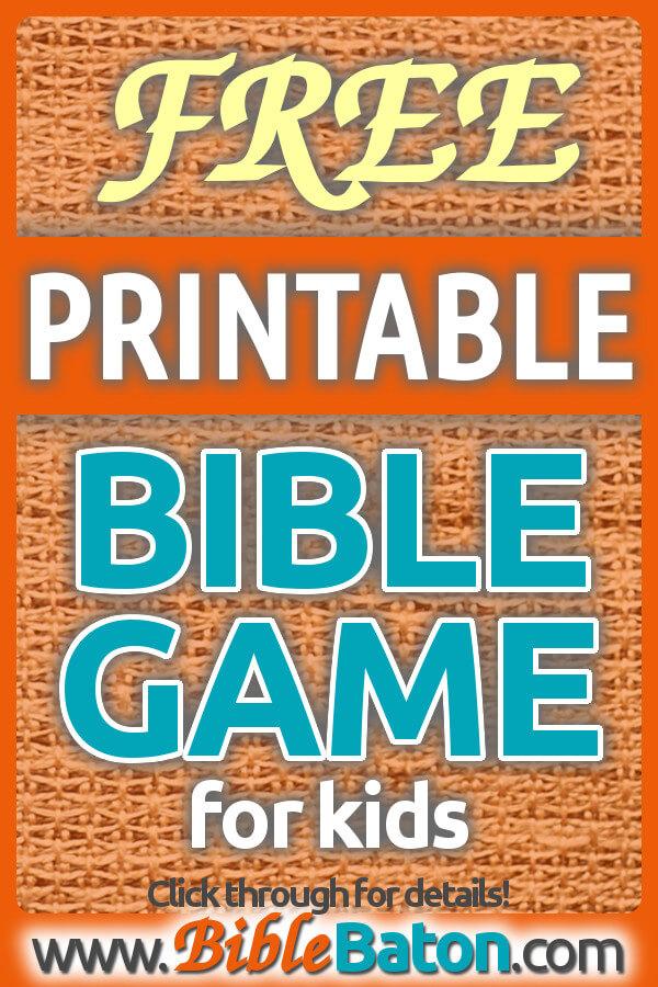 Free Printable Books Of The Bible Game Cards For Kids Biblebaton