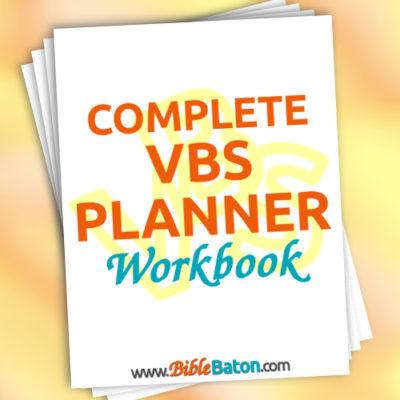 Complete VBS Planner Workbook