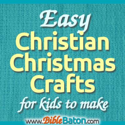 10 Easy Christian Christmas Crafts for Kids to Make